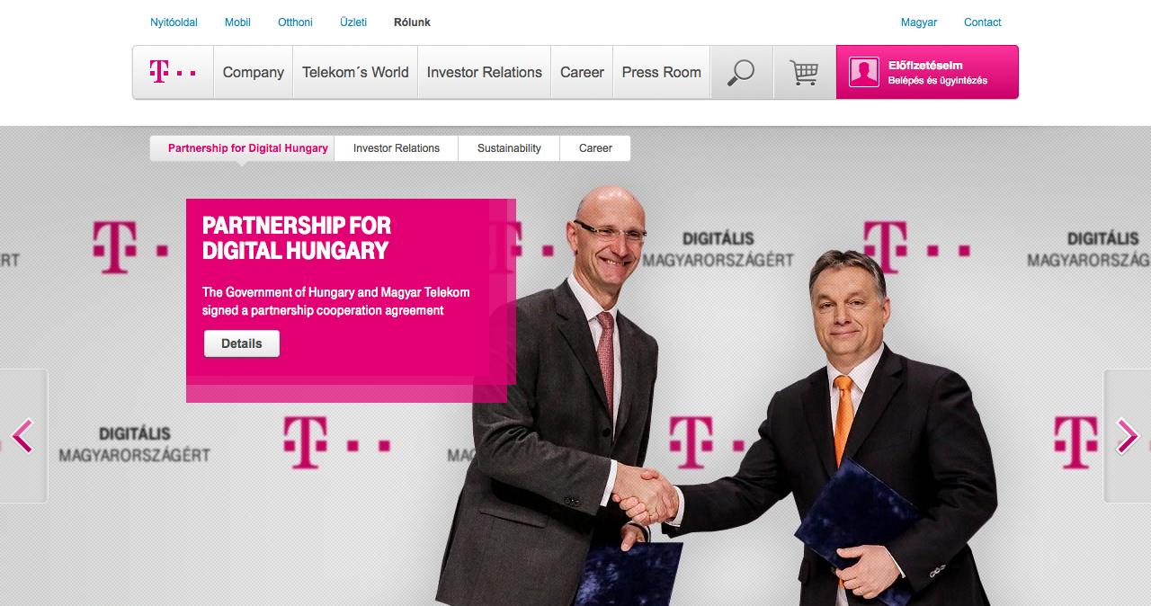 Main page - Magyar Telekom Group