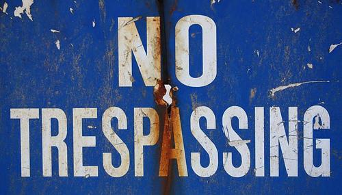 2014-07-07 Trespassing