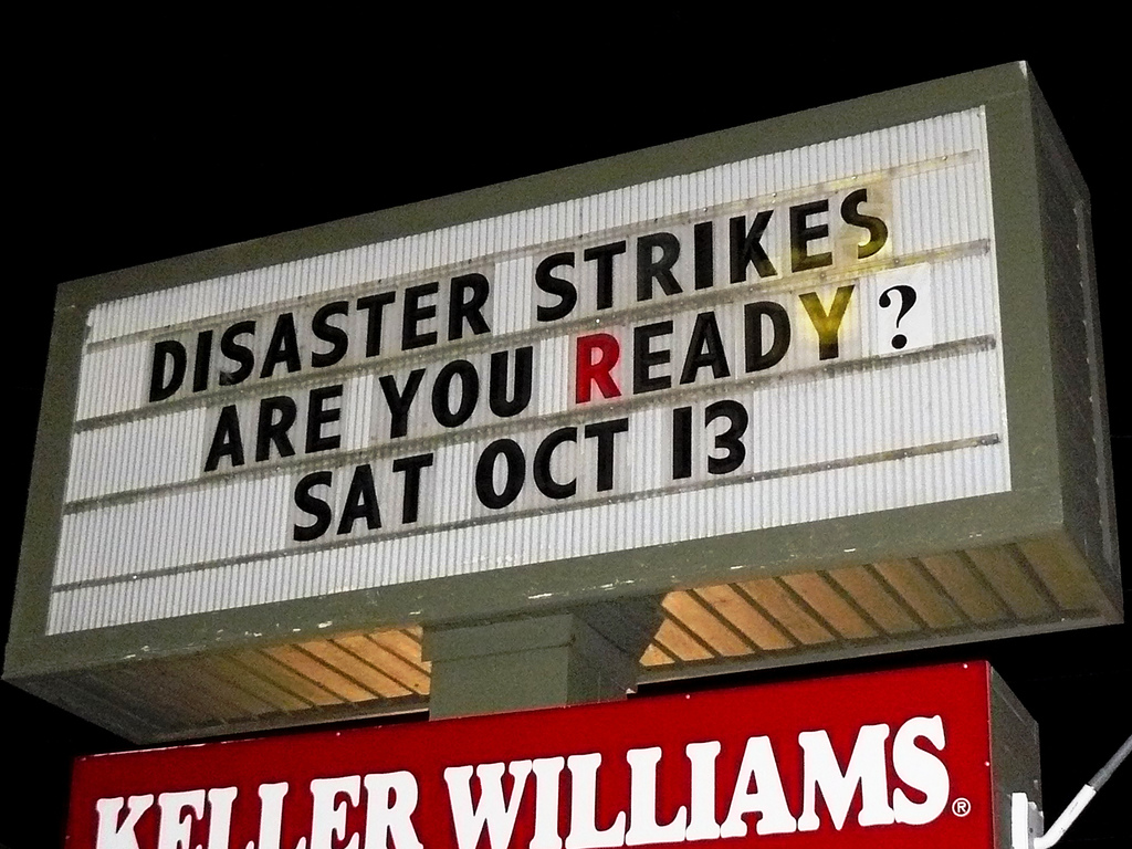 2014-10-12 Disaster