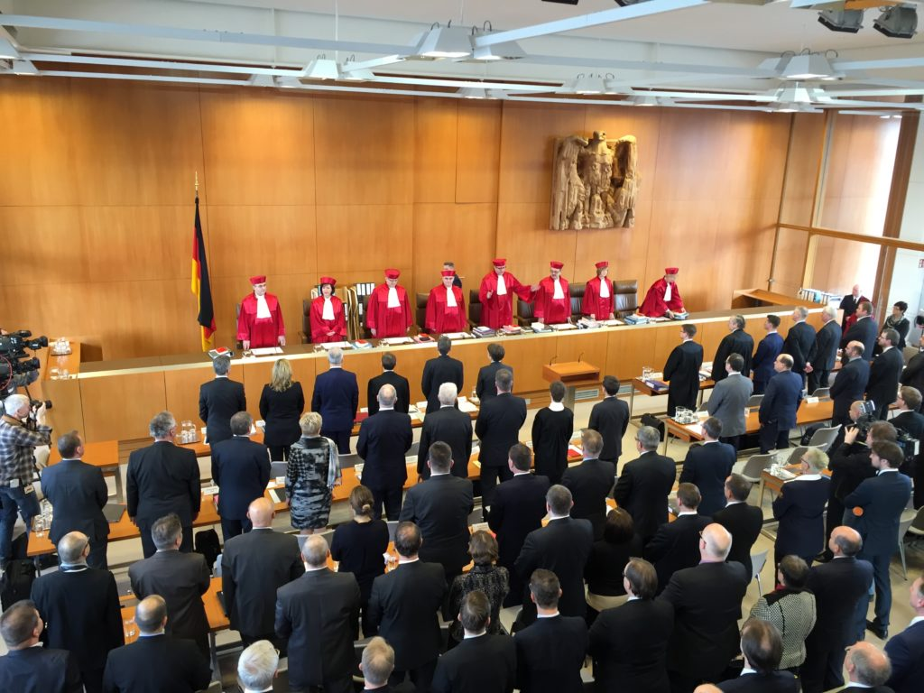 Second Senate takes the Bench Moments before Cameras are Excluded from the Courtroom